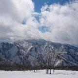 冬の五頭山に登ってきました