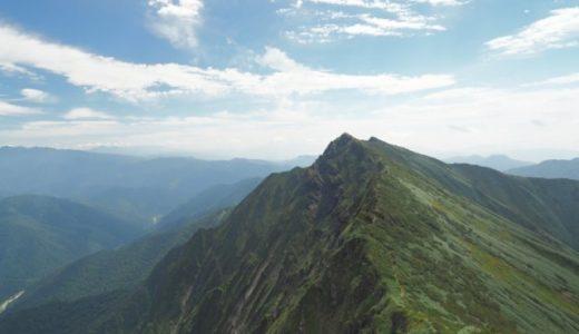 天神尾根ルートで谷川岳と一ノ倉岳