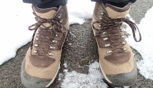 初めての登山靴はキャラバンC1-02Sにして良かった