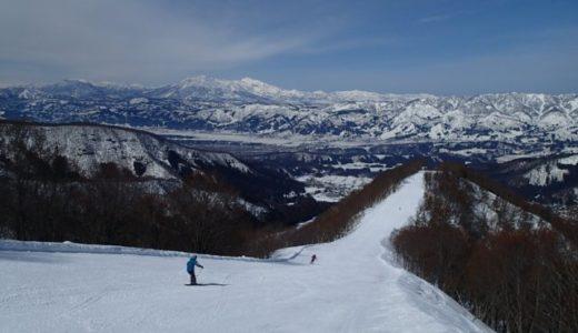 野沢温泉スキー場に春スキー