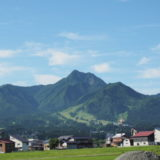 魚沼の山「飯士山」別名「上田富士」に登る